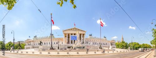 Fotografie, Obraz  Wien, Parlament