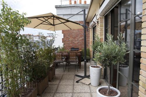 Photo  sur la terrasse