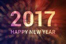 Happy New Year 2017 Invitation...