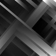 abstract vector background with black and white stripes