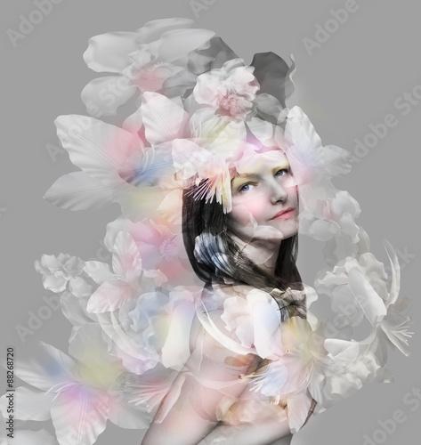 Fotografía  Beautiful artistic portrait
