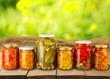 Leinwandbild Motiv Canning, Jar, Food.