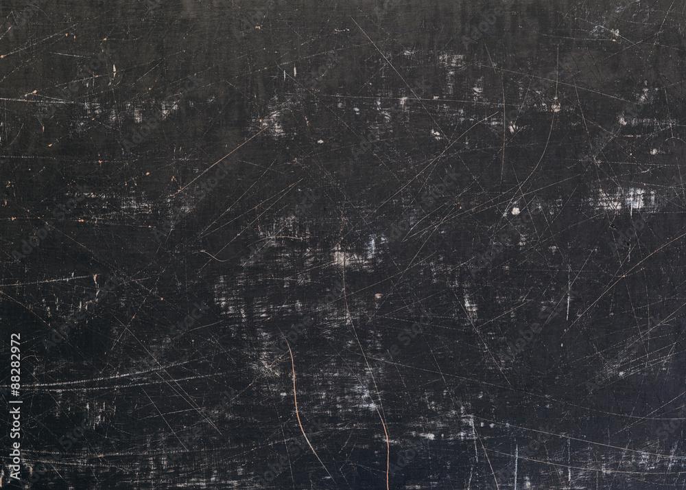 Fototapety, obrazy: Scratched Grunge Blackboard Background