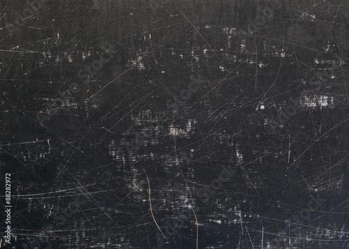 Obraz Scratched Grunge Blackboard Background - fototapety do salonu