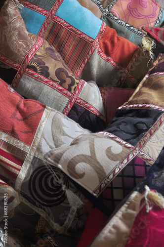 Poster South America Country oriental pillows