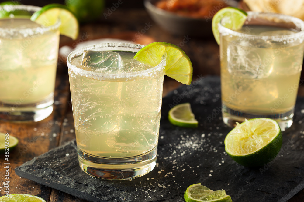 Fotografie, Tablou  Homemade Classic Margarita Drink