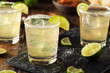 canvas print picture - Homemade Classic Margarita Drink
