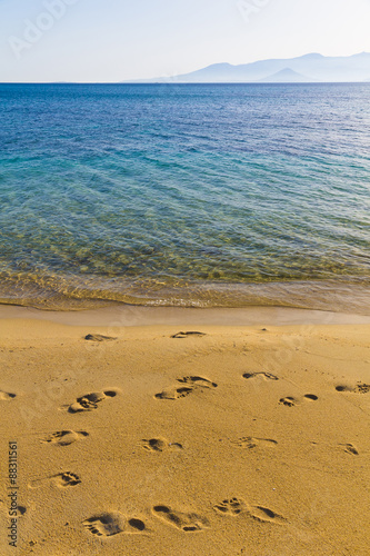 Photo  Agia Anna beach, Naxos island, Cyclades, Aegean, Greece