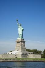 Statue Of Liberty And Liberty Island, New York City, New York