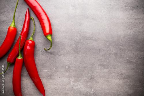 Chilli pepper. Canvas Print