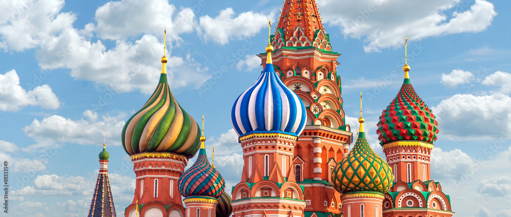 Fototapety, obrazy: Moscow. St.Basil Cathedral