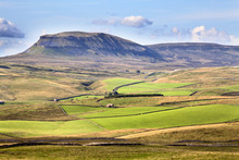 Pen Y Ghent From Above Langcliffe Near Settle, Yorkshire