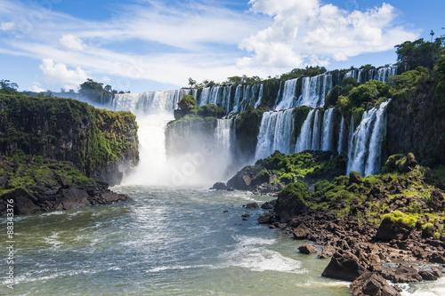 Foz de Iguazu, largest waterfalls, Iguazu National Park, Argentina