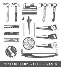 Vintage Carpenter Elements