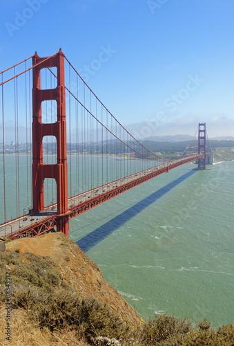 Golden Gate Bridge, San Francisco, California, United States of America, North America #88343912