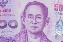 Close Up Of Thailand Currency,...