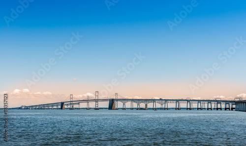 Poster Bridge Chesapeake Bay Bridge in Marland