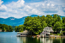 Scenery Around Lake Lure North...