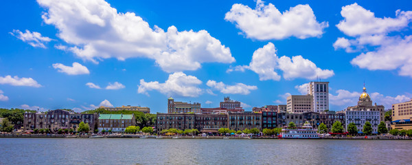 savannah georgia waterfront scenes