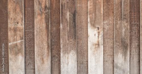 Foto op Plexiglas Wand Vintage wooden scrap plank texture background