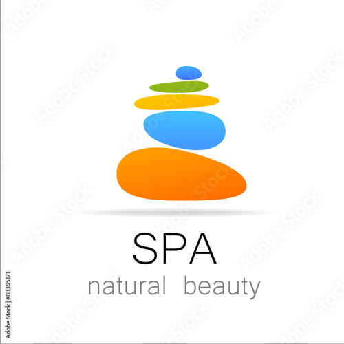 spa natural beauty logo template #88395171