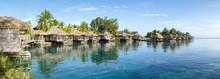 Luxusurlaub In Einem Overwater Bungalow In Französisch Polynesien