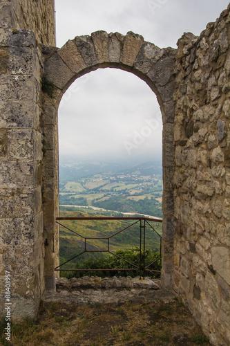 Foto op Plexiglas Toscane Portale per il paradiso a Petrella Guidi
