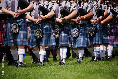Obraz na plátně Scottish bagpipe