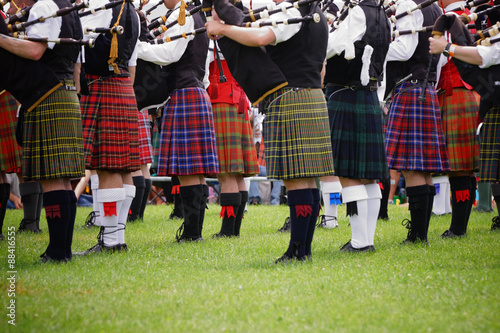Tela Scottish bagpipe band