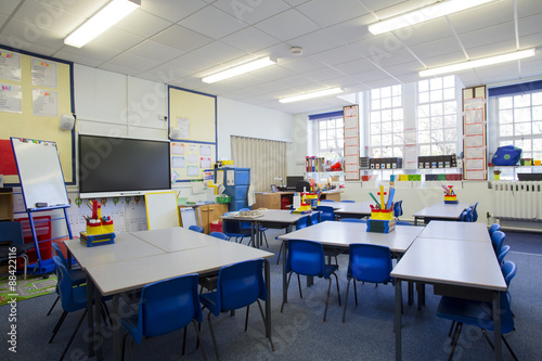 Fotografie, Obraz  Empty Classroom