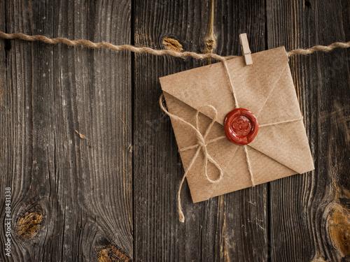 Fotografie, Obraz  Love Letter a tužka