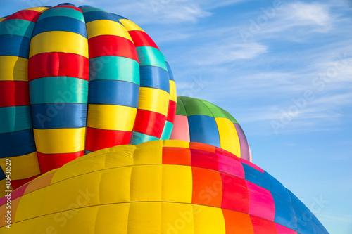 Foto op Canvas Luchtsport Hot air balloons