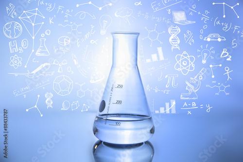 kolba-rysunki-laboratorium-gryzmoly-chemia