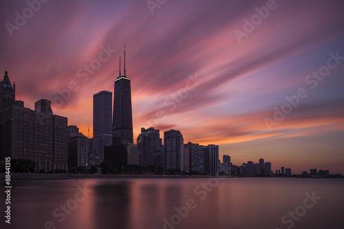 Zdjęcie XXL Chicago Skyline
