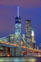 Fototapeta Nowy York Manhattan at night