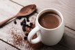 canvas print picture - hot chocolate