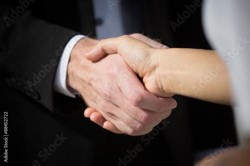 Fotografía  El apretón de manos