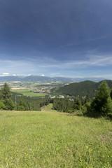 Fototapeta na wymiar View on the summer Slovakia Mountains High Tatras