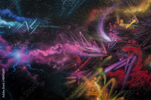 Mur de graffiti abstrait © PicsArt