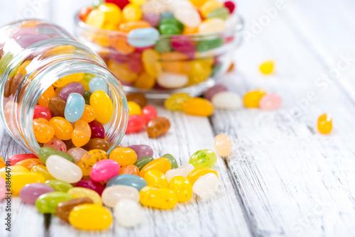 Foto op Aluminium Snoepjes Colorfull Jelly Beans
