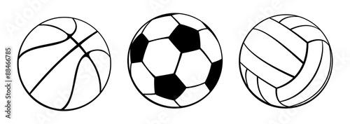 Staande foto Bol Sport Balls