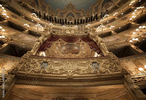 Printed kitchen splashbacks Theater Gran Teatro La Fenice