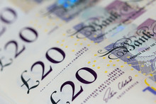 Twenty Pound Notes (Sterling)