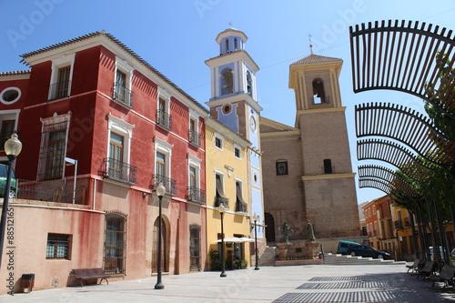 Centro pintoresco de Mula, Murcia