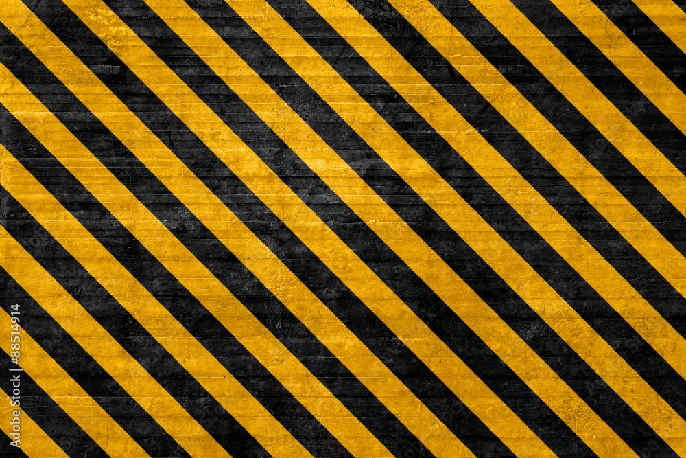 Fototapeta Textured hazard background