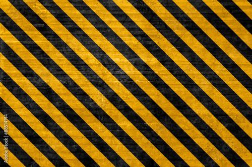 Fotografie, Obraz  Textured hazard background