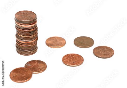 Fotomural American Coins