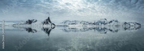 Photo  Arctic spring in south Spitsbergen