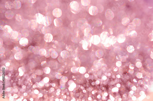Plakat  Pink birthday blurred.
