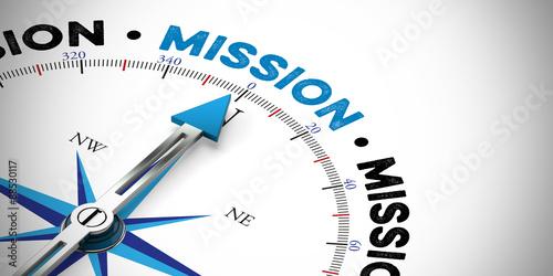 Pfeil zeigt in Richtung Mission #88530117